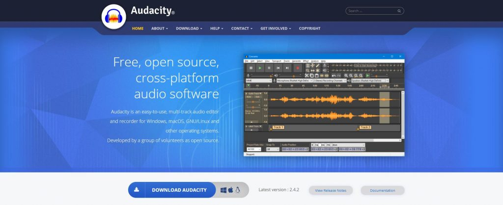 free audio software and tool