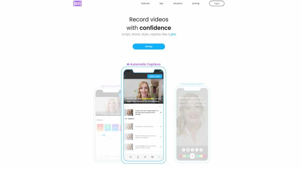 Teleprompter and Video Maker App
