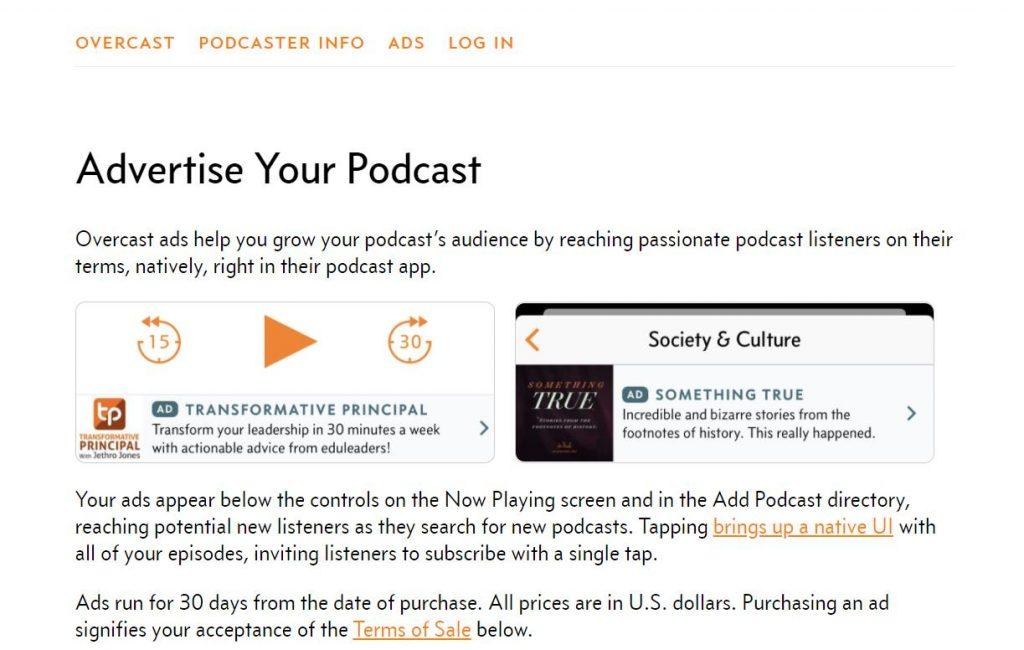 Podcast Marketing & SEO and monetization