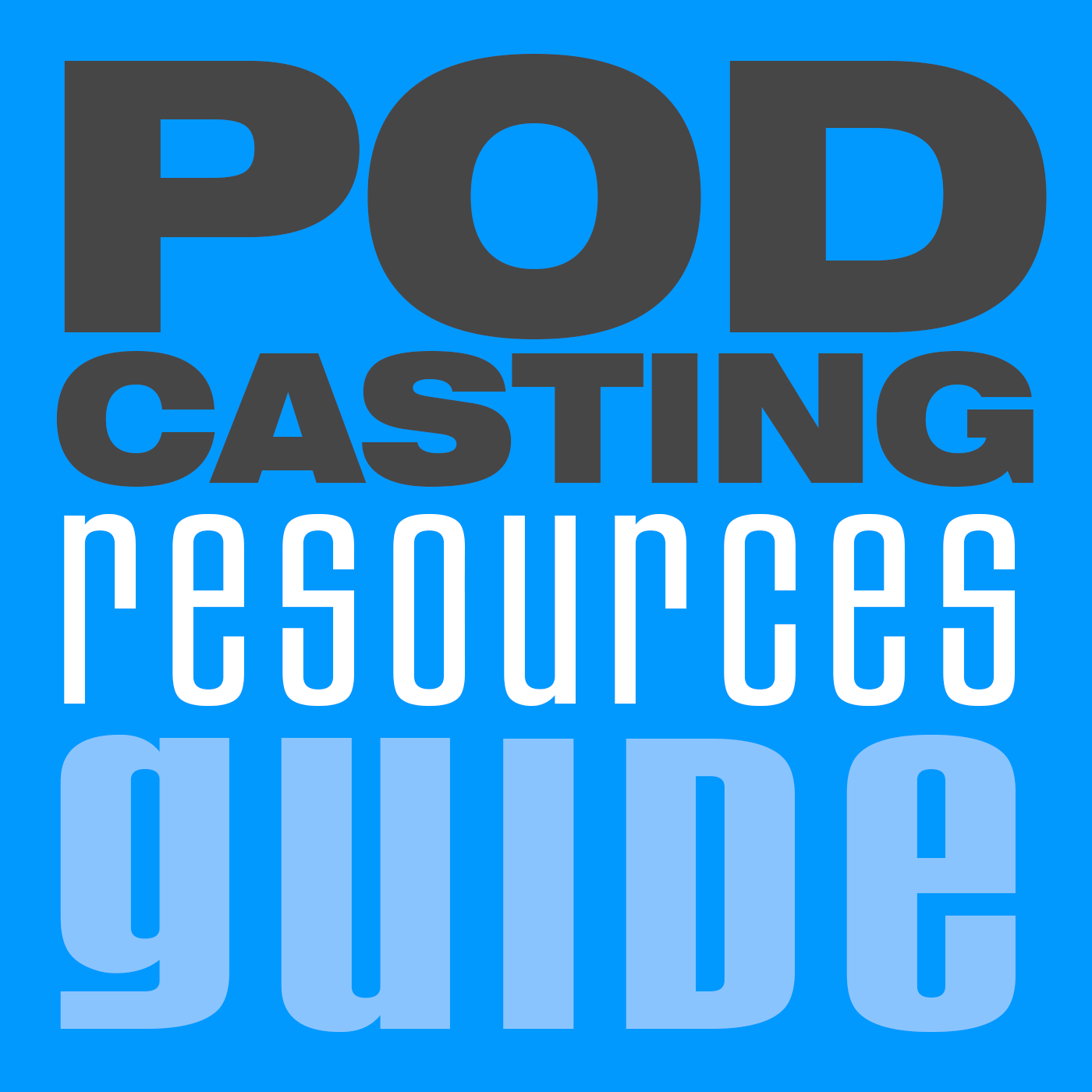 Podcasting Resources Guide Logp