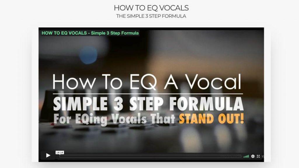 Pro Sound Formula