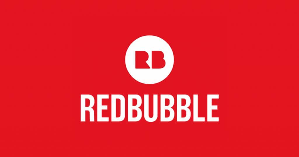 Red bubble new logo