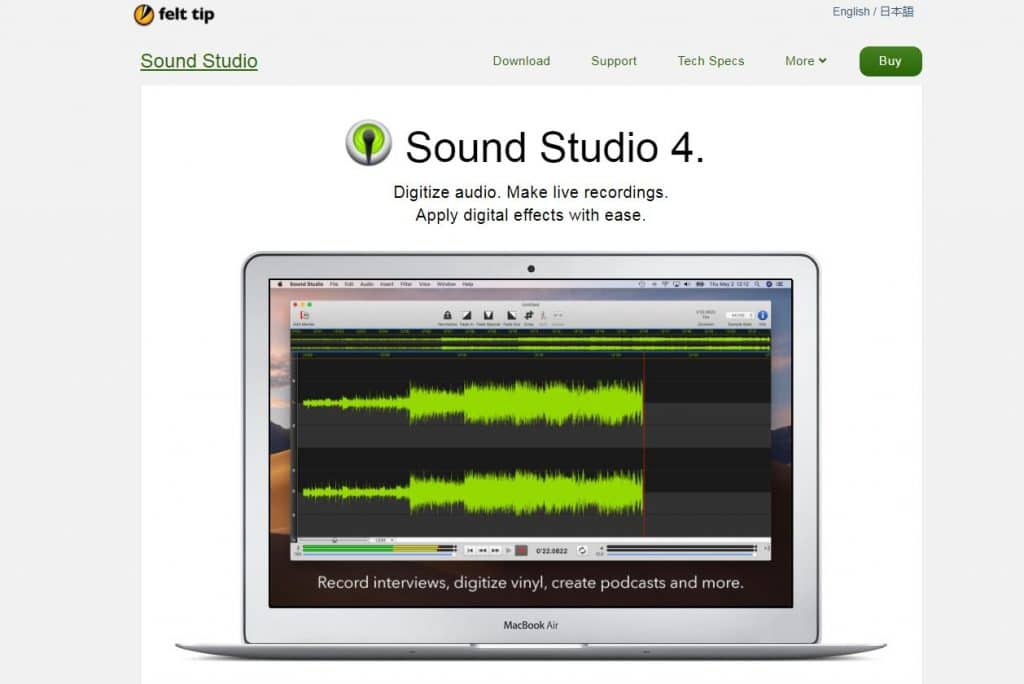 simple audio recorder and editing software