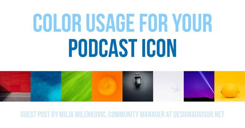 Color Usage For Podcast Icons