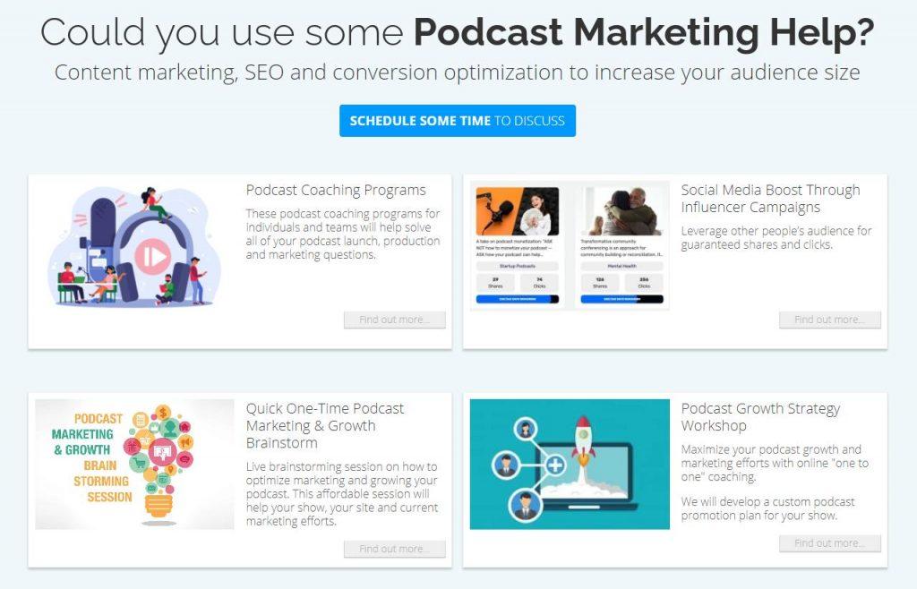 Polymash Podcast Marketing Services